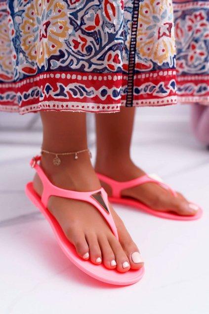 Dámske sandále oranžové Storm