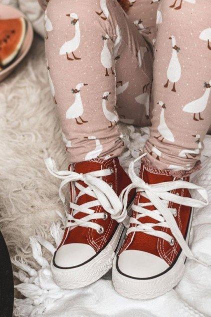Detské tenisky farba červená kód obuvi 80090-C RED