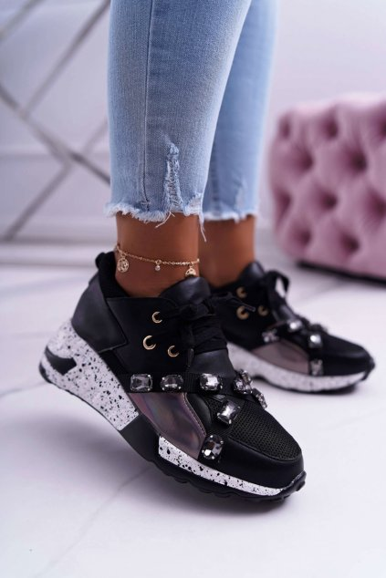 Dámska športová obuv Lu Boo čierne Frency