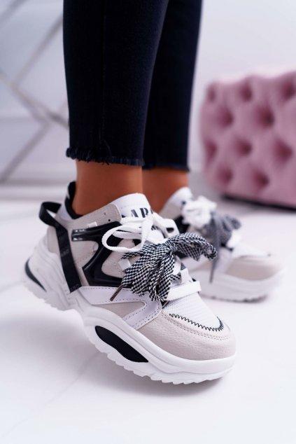 Dámska športová obuv Béžové ABO