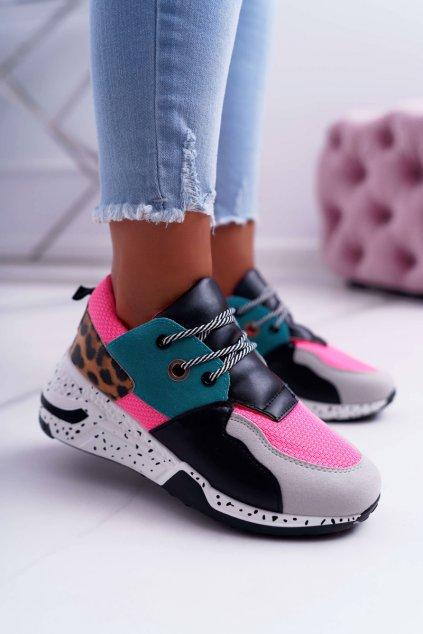 Dámska športová obuv Leopard Mix Timoti