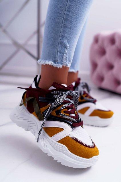 Dámska športová obuv Žluté B. Energy