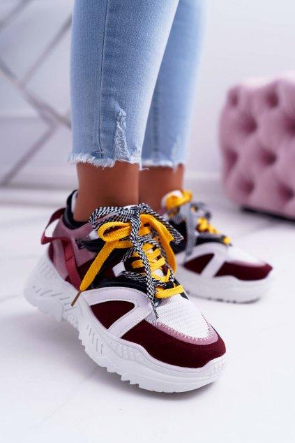 Dámska športová obuv Vínové B. Energy