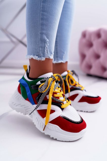Dámska športová obuv Červené B. Energy