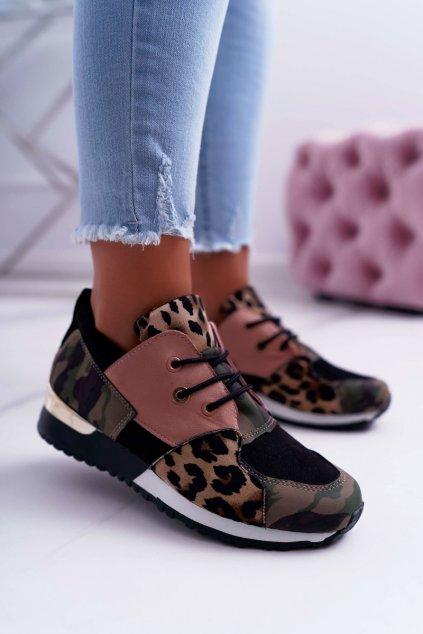 Dámska športová obuv Army-Leopard Tri Star