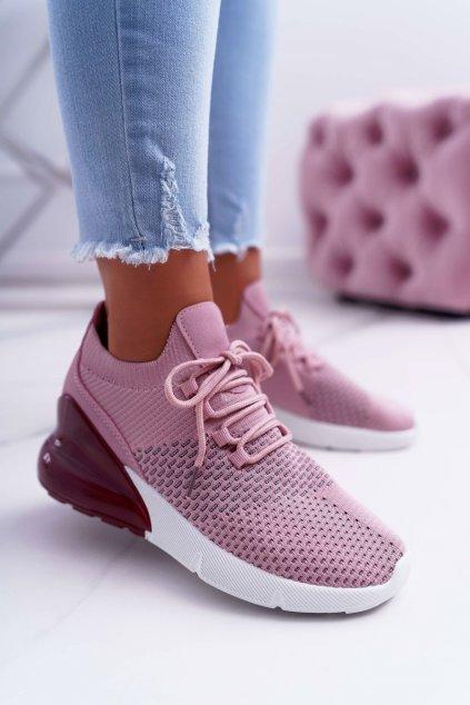 Dámska športová obuv Ružové Hello