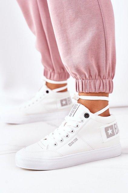 Dámske tenisky farba biela kód obuvi EE274352 WHITE