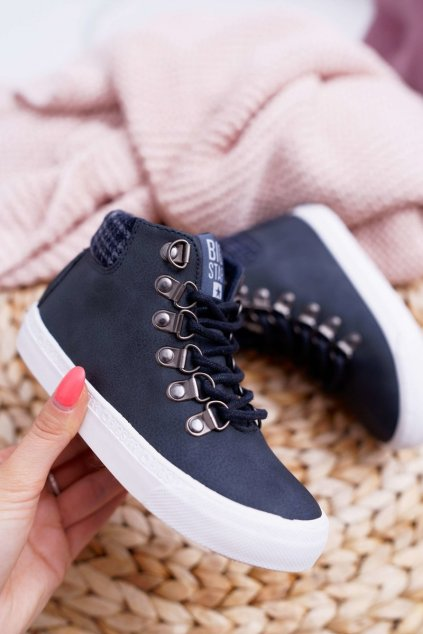 Detské tenisky farba modrá kód obuvi EE374038 NAVY