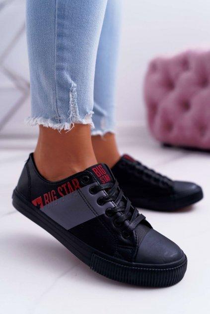 Dámske tenisky farba čierna kód obuvi EE274090 BLK
