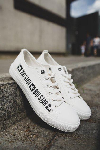 Biela obuv kód topánok EE174070 WHITE