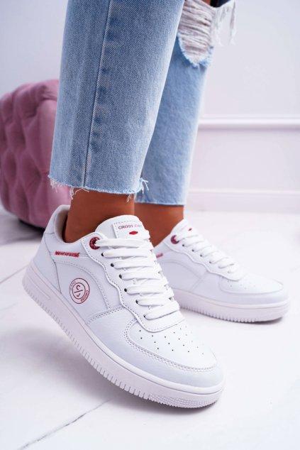 Dámske tenisky Cross Jeans biele EE2R4143C
