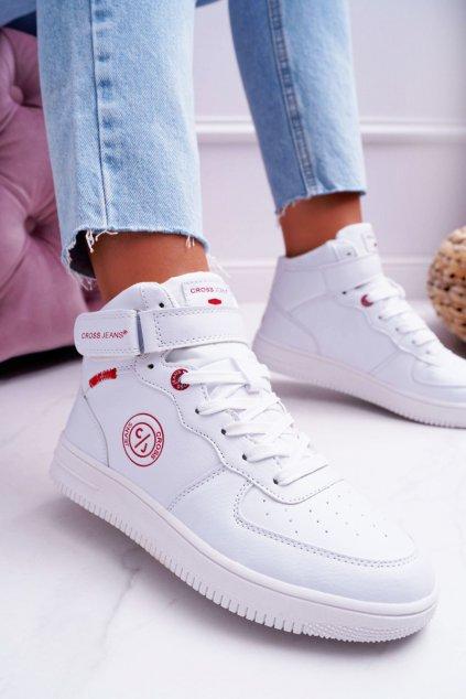 Dámske tenisky Cross Jeans biele EE2R4145C