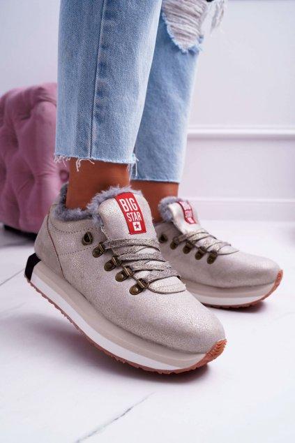 Dámska športová obuv B. Star béžové EE274732