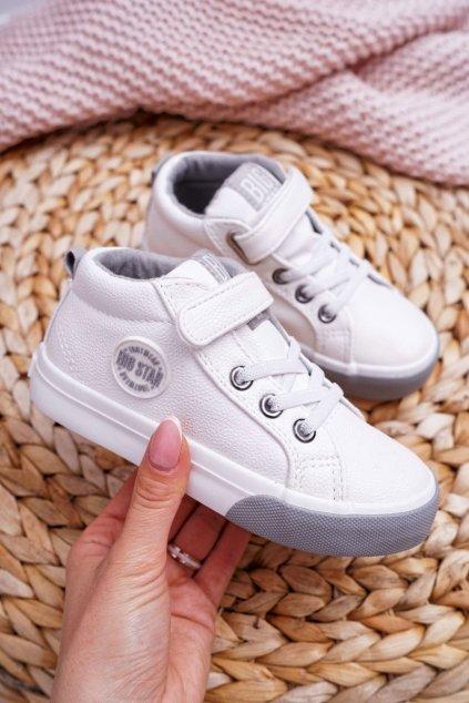 Detské tenisky farba biela kód obuvi EE374002 WHITE