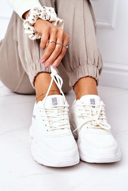 Dámska športová obuv B. Star biele EE274460