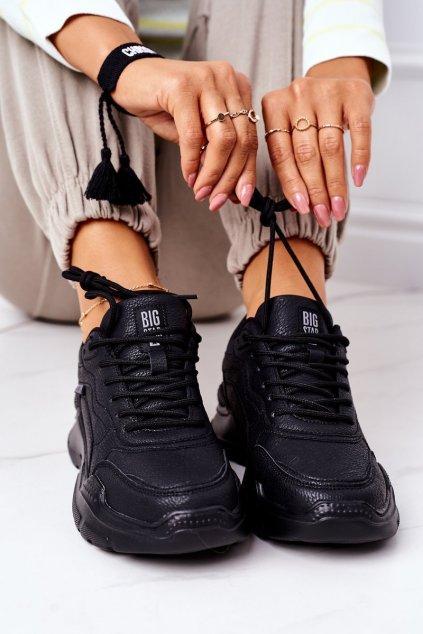 Dámska športová obuv B. Star čierne EE274462