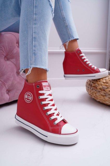Dámska Obuv Sneakers B. Star Červené EE274614
