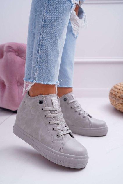 Dámska Obuv Sneakers B. Star sivé EE274122