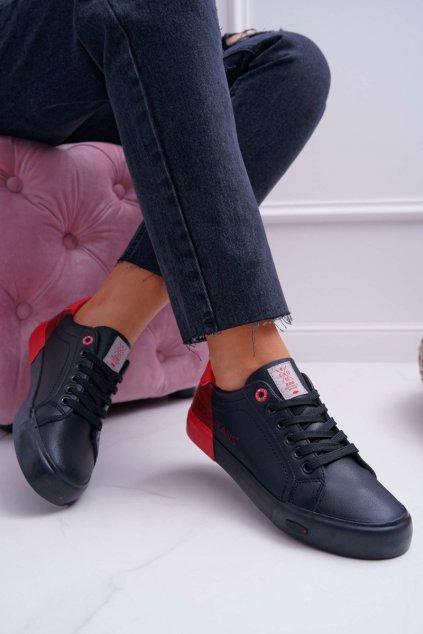 Dámske tenisky Cross Jeans čierne EE2R4019C