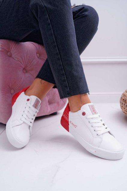 Dámske tenisky Cross Jeans biele EE2R4016C