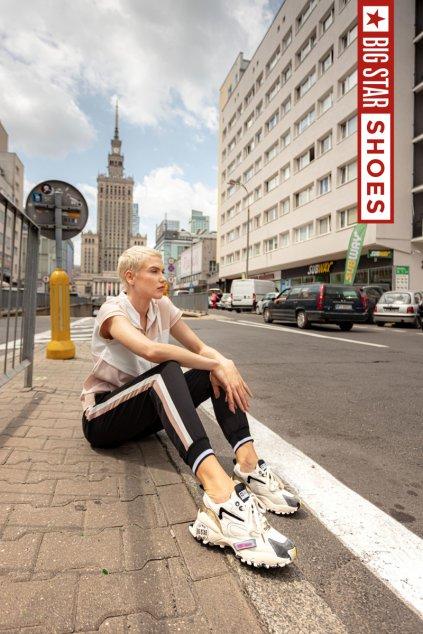 Dámske tenisky farba viacfarebná kód obuvi FF274416 MULTICOLOR