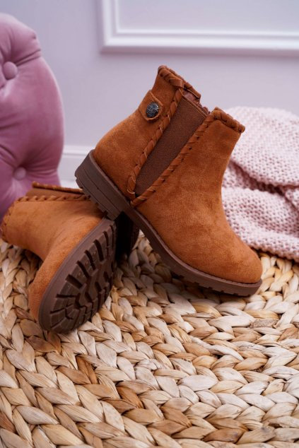 Detské členkové topánky ťavia Sicarro