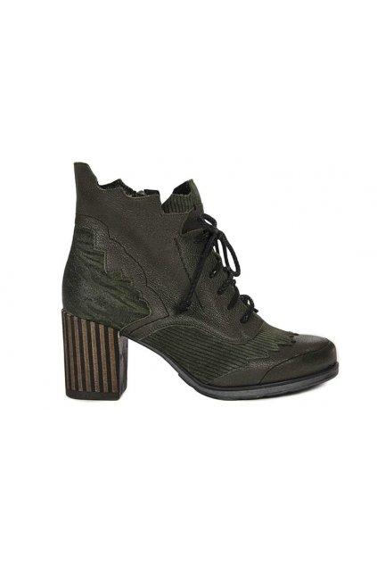 Dámske topánky Majka Kožené Zelené 03190-09