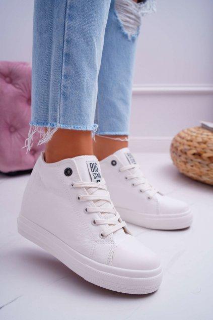 Dámska Obuv Sneakers B. Star biele EE274128