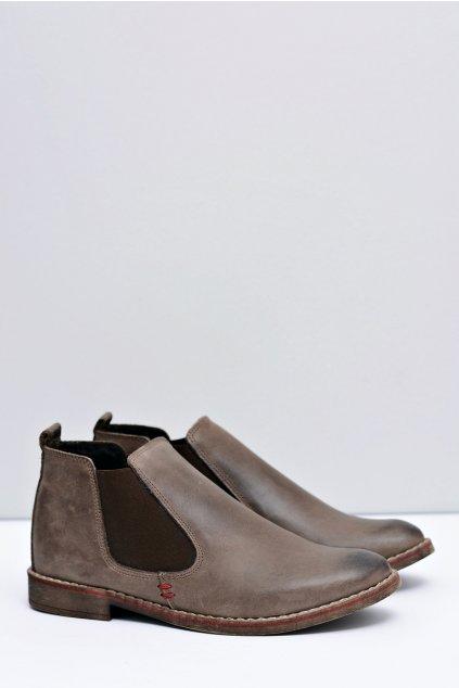 Dámske topánky Perka hnedé Oleg