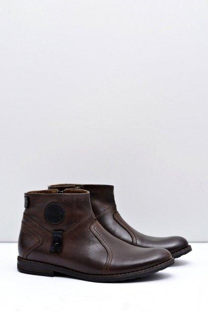 Pánske zateplené topánky so zipsom Fabrigo