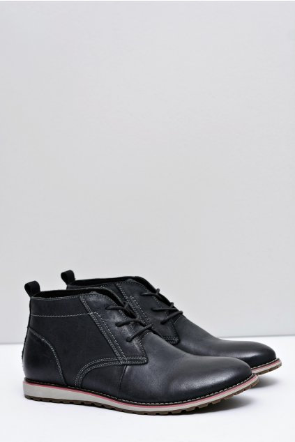 Kožená zateplená pánska obuv Rufus