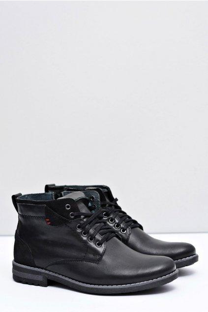 Kožené pánske poľské topánky Frenn
