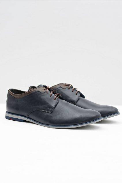 Pánske poltopánky farba modrá kód obuvi 373 NAVY
