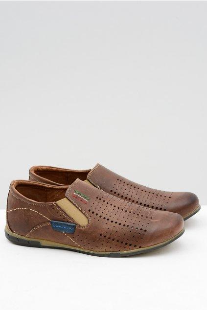 Pánske bežecké topánky Artigiana Hnedé