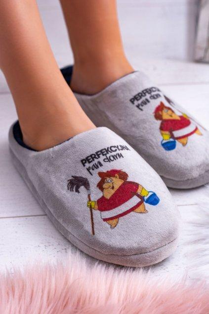 Dreex plyšové papuče dokonalá žena v domácnosti