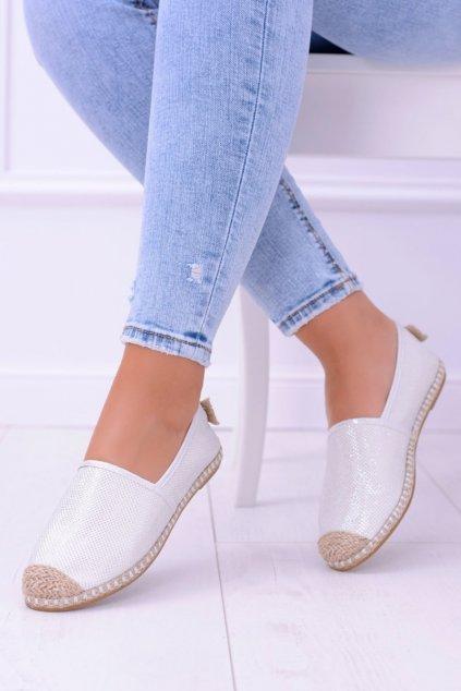 Dámske tenisky farba biela kód obuvi 2870-1 WHITE