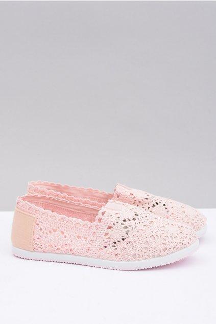 Dámske ružové baleríny Little Sugar