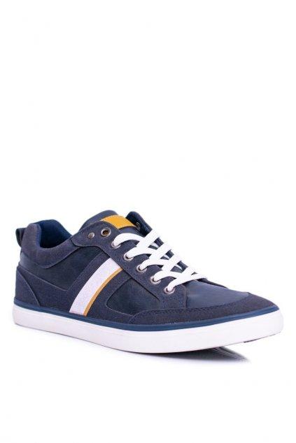 Modrá obuv kód topánok A-02 DK.BLUE