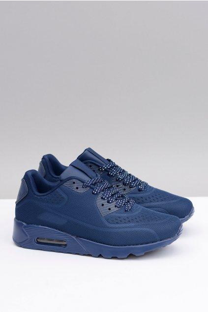 Męskie modré Sportowe Buty Monte
