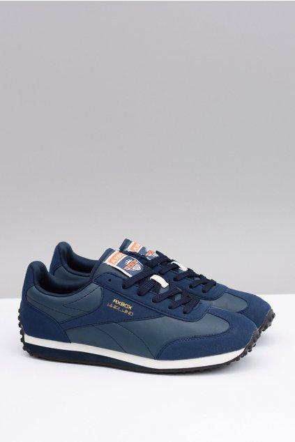 Męskie modré Sportowe Buty Desmond