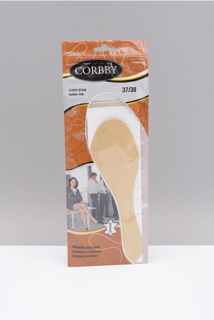 Vložky do topánok stielky kód 1052 CORBBY LEDER STICK