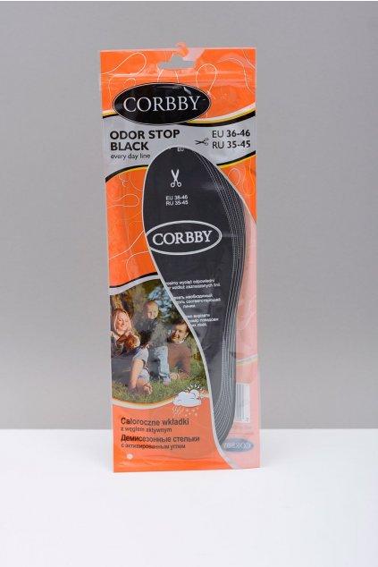 Vložky do topánok stielky kód 1244 CORBBY ODOR STOP