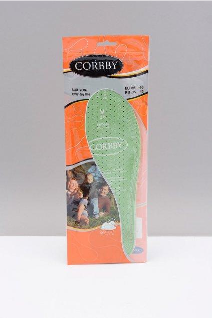 Vložky do topánok stielky kód 1211 CORBBY ALOE VERA