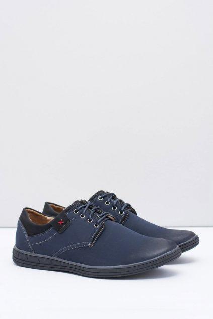 Pánske modré topánky Delgado