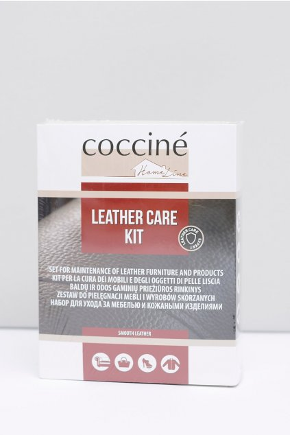Súprava na starostlivosť o kožu Coccine pre nábytok a kožené výrobky