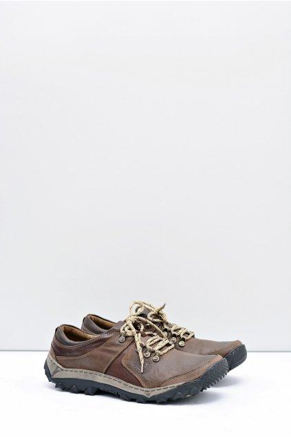 Pánske kožené trekové topánky