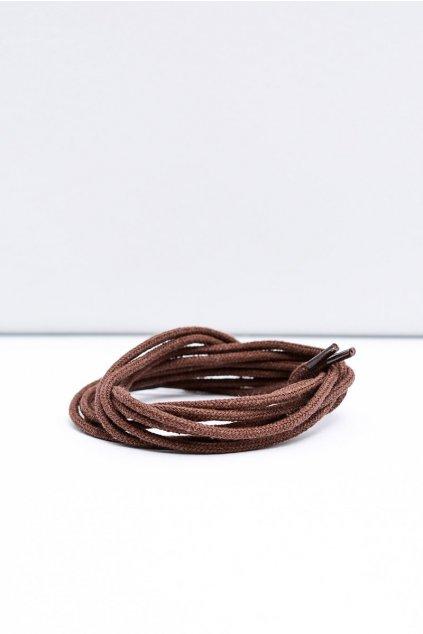 Šnúrky do topánok farba hnedá kód 5007 5107 5207 BRĄZ