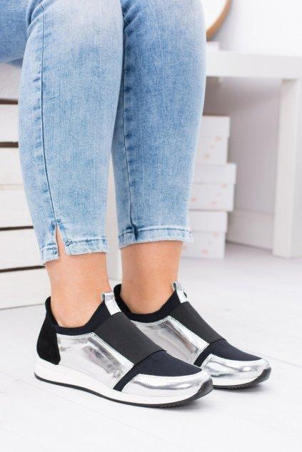Športové Slip-on topánky Natural Leather Selavi