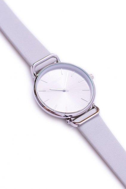 Ernest svetlo šedé dámske náramkové hodinky Nimm