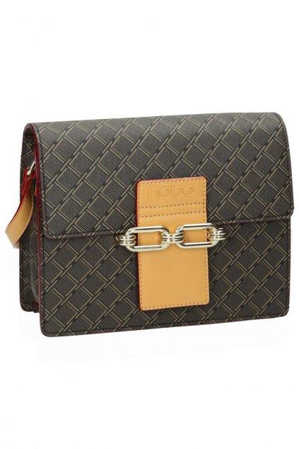 Dámska listová kabelka hnedá kód kabelky NBAG-F2202-C017 BR
